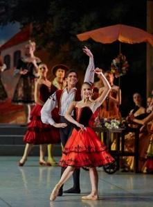 Don Quixote. Angelina Vorontsova and Victor Lebedev_Photo by Stas Levshin