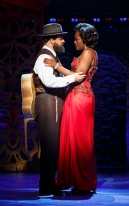 From the Broadway run: Eric Anderson and Amber Iman. Photo by Carol Rosegg