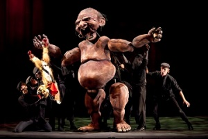 Photos by Richard Termine Gotham Chamber Opera – EL GATO Photo Credits Photos by Richard Termine  puppeteers and Kevin Burdette