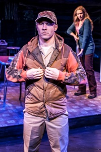 "Aaron Roman Weiner, Cassie Beck in a scene from ""The Insurgents"" (c) Monique_Carboni"