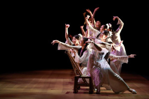 "Production photo from ""The Legend Of Mulan"" courtesy of the Hong Kong Dance Company"