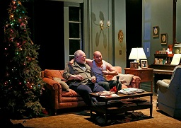 Stephen McKinley Henderson and Victor Almanzar in a scene from Guirgis' play. Photo © Carol Rosegg