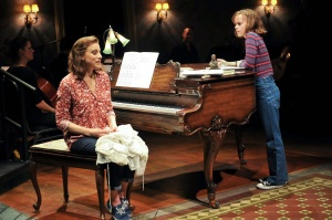 "Judy Kuhn and Sydney Lucas in ""Fun Home"" (c)Jenny Anderson"