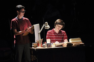 "Beth Malone and Emily Skeggs in ""Fun Home"" (c)Jenny Anderson"