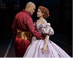 "Ken Watanabe and Kelli O'Hara in ""The King and I"""