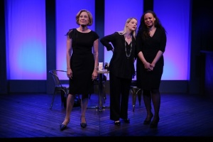 Meg Gibson, Kellie Overbey and Michelle Beck in The Sentinels  by Matthew Lopez, directed by Stephen Brackett, part of Summer Shorts 2015 at 59E59 Theaters. Photo by Carol Rosegg