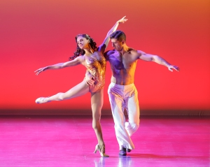 On the Town: Misty Copeland and Tony Yazbeck. Photo by Joan Marcus
