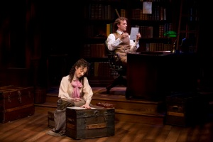 Megan McGinnis and Paul Alexander Nolan in Daddy Long Legs,, Photo by Jeremy Daniel