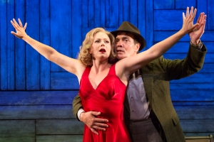 Liv Rooth and Derek Smith in David Grimm's Oriflamme, in DESIRE, produced by The Acting Company for the 5A Season at 59E59 Theaters. Photo by Heidi Bohnenkamp
