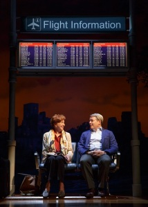 Sylvia with Julie White as Kate and Matthew Broderick as Greg. Photo by Joan Marcus