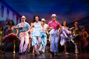 Ana Villafañe and the cast of On Your Feet! --one of few still standing even after a poor Tony showing.(c) Matthew Murphy