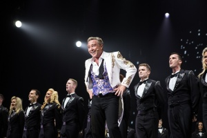 "Michael Flatley in ""Lord of the Dance."" Photo Credit: Brian Doherty for Rapa Investments"