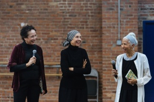 Virginia Johnson, Carmen de Lavallade and Dianne McIntyre. Image by Karli Cadel