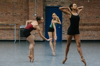 Stephanie Rae Williams, Nayara Lopes and Lindsey Croop.Image by Karli Cadel