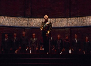 Tim Pigott-Smith & The Cast of King Charles III © Joan Marcus