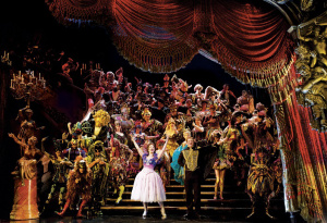 """The Company in """"Masquerade"""" in a photo by Matthew Murphy."""
