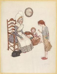 RedShoesPage_facing_218_of_Andersen's_fairy_tales_(Robinson)