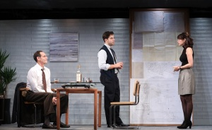 WHAT WE'RE UP AGAINSTOctober 28-November 26 Off-Broadway Premiere  written by Theresa Rebeck directed by Adrienne Campbell-Holt with Skylar Astin, Marg Helgenberger, Jim Parrack, Krysta Rodriguez, & Damian Young